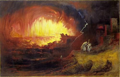 The Destruction of Sodom and Gomorrah, John Martin, 1852