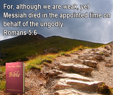 One New Man Daily Word : Romans 5:6