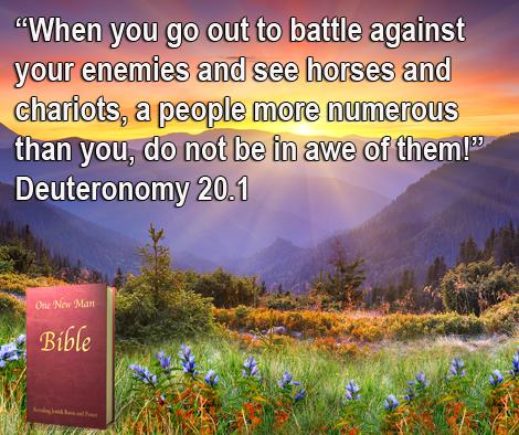 One New Man Daily Word : Deuteronomy 20.1