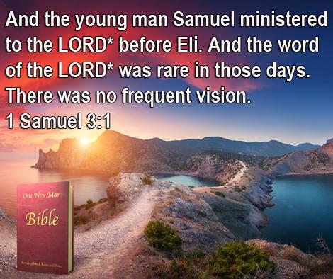 One New Man Daily Word : 1 Samuel 3.1