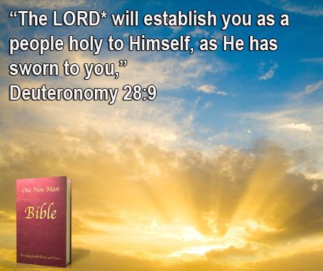 One New Man Daily Word : Deuteronomy 28:9