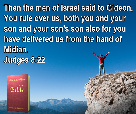 One New Man Daily Word : Judges 8:22