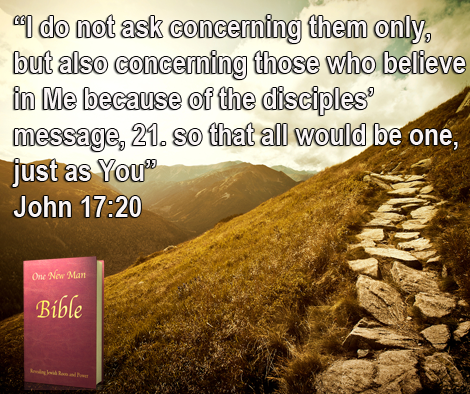 One New Man Daily Word : John 17:20