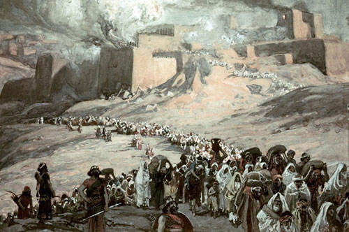The Flight of the Prisoners: James Tissot