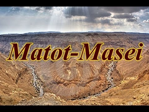 Weekly Torah Readings: Matot-Masei