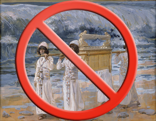 Bible Myth #5: The Ark was carried for all to see
