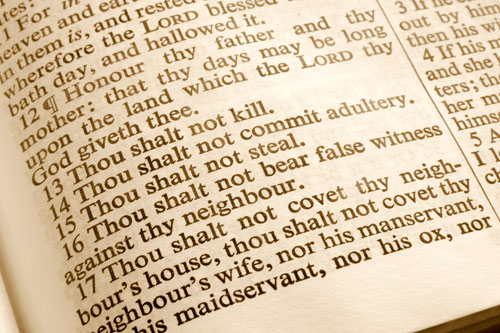 """Bible Myth #16 The """"Law"""""""